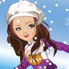 Shining Girl Skiing Dress Up A Free Dress-Up Game