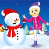 Winter Snowman A Free Dress-Up Game