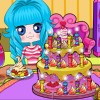 Cutie Cake Party A Free Dress-Up Game