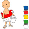 Caillou Paint A Free Other Game