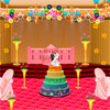 Decorate this wedding hall! Customize every aspect of the wedding, from the walls to the wedding cake. Pick the best flower arrangements and set the perfect scene for the happy bride and groom.