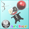 60 seconds for archer A Free Action Game