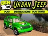 Play Ben 10 Urban Jeep