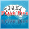 The goal of Flash Five is to create as many (and best) poker hands as possible within the level time frame. Each level is 60 seconds. Creating a poker hand that matches the level goal(s) will allow you to proceed to the next level when time runs out. Combo points are awarded for matching goals in a row.  Each poker hand is scored based on the strength of the hand (ie a Pair is the lowest where as 5 of a Kind is the highest).  Flash Five includes an integrated (and optional) high score list to view scores from players around the world. View the top 10 players and see how you rank up with the in game rank system.