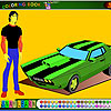 Kevins car coloring A Free Customize Game