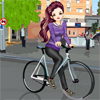 Bicyclist Girl