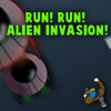 Run! Run! Alien Invasion! A Free Action Game