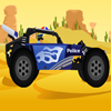 Police Buggy Car A Free Action Game