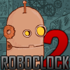 Help RoboClock make time fly.  Or at least let him figure out which clock he needs to fly to and capture.  Helps practice your time telling skills