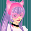 Cat girl fashion dress up game