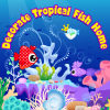 The tropical fish want to have a warm home. You could design their home first and design the tropical fish then. When you finish the fish design, you could click the fish and it will be into the big tank. Enjoy yourself.