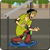 Scooby Doo Skate Race A Free Sports Game