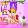 Romantic Flowery House A Free Dress-Up Game