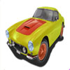 speedy car coloring