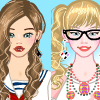 A day with BFF dress up game