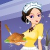 Sweety Waitress Dress Up