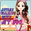 Autumn Walking with my Dog A Free Dress-Up Game