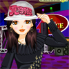 Alicia is attending a Hip Hop dance party tonight along with her friends. She wants to look Hip to impress one and all. She has a lot of clothes in her wardrobe but is undecided on the best hip hop costume. She looks to you to suggest her some suitable clothes for the occasion. Along with trendy clothes, provide her with matching accessories and makeup to complete her hip look. Dress her up quick as the party is about to start.