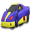 Nice racing car coloring