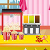 In this game, you have to cook some popcorn and serve your clients before they go see their movie. You have to serve soft drink, all kind of popcorn size, candy, chocolate and more. Have fun.