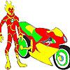 Heatblast motorbike