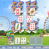 New free online variation of popular patience game solitaire in bright and quality interpretation.  The game goal is to place all cards from the playing field to the foundation. Click at the two cards of the same rank to remover. There are twenty levels for continuous and pleasant gameplay.