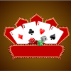 Guess whether the rank of the next card is greater than or less than the previous one. The card rank from high to low is A,k,Q,j,9,8,7,6,5,4,3,2,
