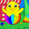 Easter Basket Coloring A Free Customize Game