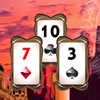Visit all ancient civilizations in the Pyramid Solitaire game.