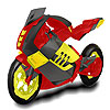 Powerful  motorbike  coloring A Free Customize Game
