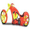 Big motorbike coloring