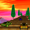 Coaster Cars 2: Purple race A Free Action Game