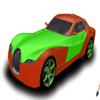 brilliant sport car coloring