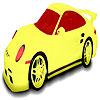 Stylish car coloring