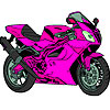 Color Motorcycle A Free Customize Game