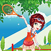 Tennis Girl Dress up game.