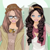 Boho Chic Sisters dress up game A Free Dress-Up Game