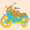 Fast motorbike coloring A Free Customize Game