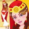 Indian Beauty Girl Dress Up