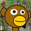 Monkey Madness is a platform game where you collect fruit and blow up worms.
