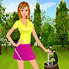 Golf Player Girl A Free Customize Game