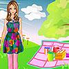 Pretty Girl on a picnic