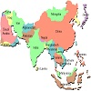 Geography Quiz - Asia A Free Education Game