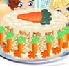 Bunnies Carrot Cake A Free Dress-Up Game