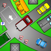 The Car Park. Use the arrow key to try and get your car to the parking spot and park it.