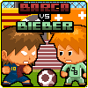 barca vs bieber A Free Action Game
