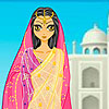 Taj Mahal girl A Free Customize Game