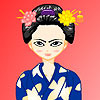 Traditional Japanese Girl
