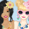 Summer holiday with bff A Free Dress-Up Game