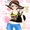 Aline dress up A Free Dress-Up Game